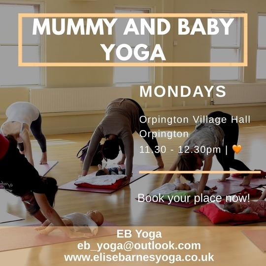 mum and baby yoga class image