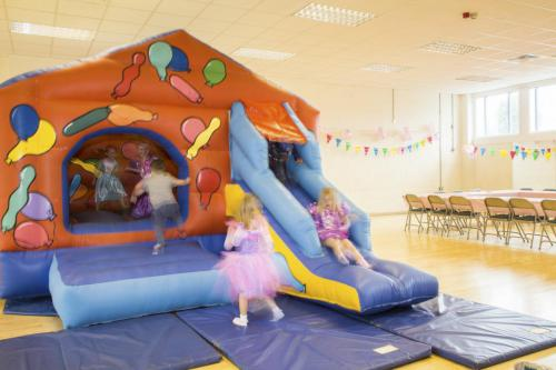 Fairy princess birthday party in the Alfred Brown Hall