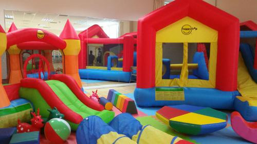 Magical Munchkins bouncy castle town