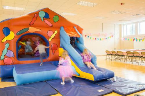 Bouncy castle larger hall